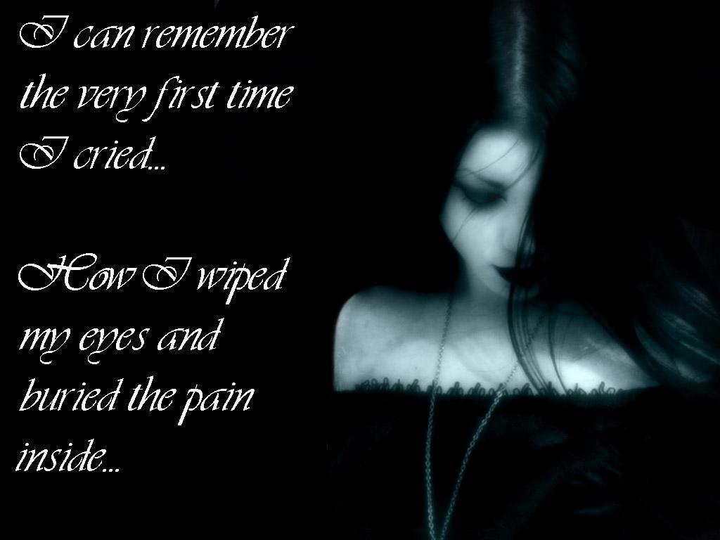 Emo Dark Quotes: Gothic And Emo Quotes. QuotesGram